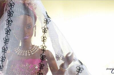 Sesión fotográfica de la boda de Barbie y Ken nigerianos