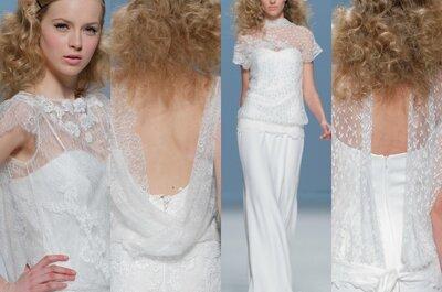 Tendências 2015: Vestidos de noiva com decote nas costas