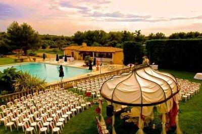 Les 10 plus beaux domaines de mariage des Bouches-du-Rhône pour accueillir votre réception !