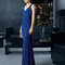 Vestido 8T254 azul marinho