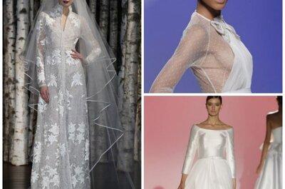 Langarm-Brautkleider 2015 – die Eyecatcher auf jeder Hochzeit!