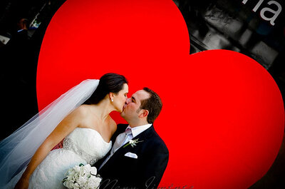¡Decora tu boda con corazones!