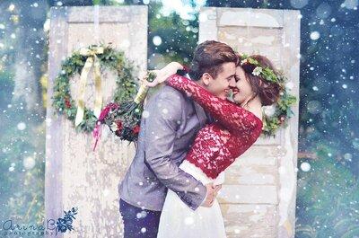 Viaggio di nozze sulla neve, un romantico incanto invernale