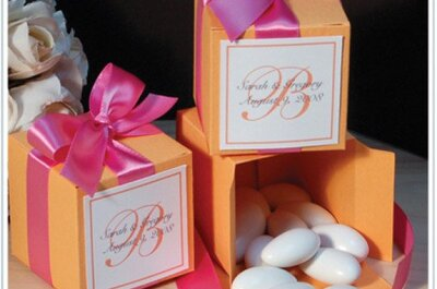 Pięć pomysłów na słodkie upominki dla gości weselnych