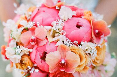 Coral, el color más hermoso y romántico para las bodas 2016