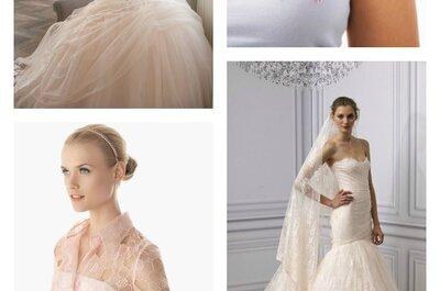 Journée Mondiale de Lutte contre le Cancer : on dit OUI à la robe de mariée rose et à la robe de cocktail rose !