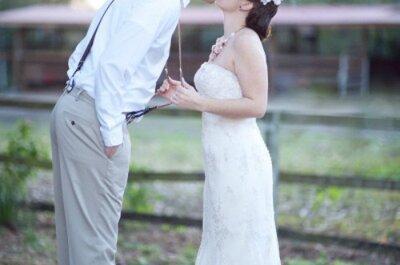 Para eles: os suspensórios voltaram… Para casar!