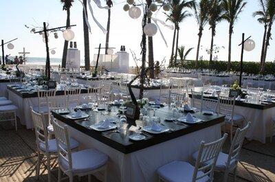 Mucho más que planear tu evento, ¡diseña una boda de ensueño!