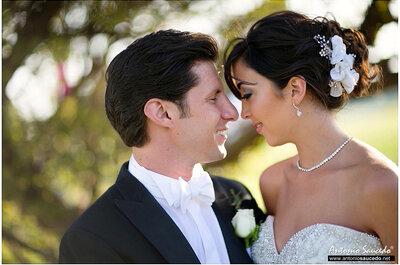 Andrea + Eduardo: Una boda súper glam en Hacienda Doña Urraca, Querétaro