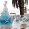 Decoración de bodas en turquesa