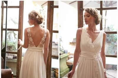 Robes de mariée décolleté en V 2017 : sensualité et glamour au rendez-vous