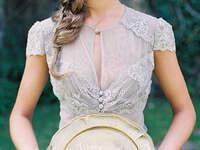 Adiós al blanco: Apuesta por un vestido de novia en colores nude, crudos y con toques marfil