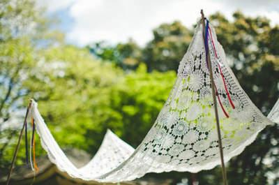 10 ideias inspiradoras para a decoração de um casamento ao ar livre
