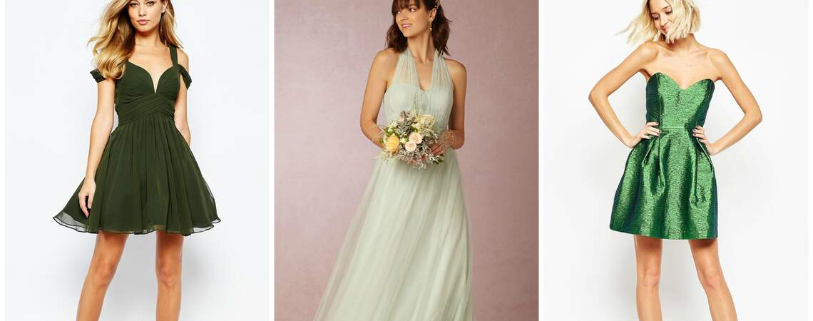 Green with Envy: Affordable and Luxurious Party Gowns and Dresses Perfect for Every Wedding Guests 2016