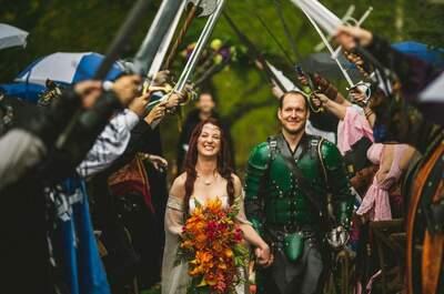 Juego de tronos: cómo organizar tu boda inspirada en la saga de moda