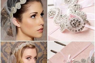 Lindos accesorios de boda para él y ella. ¡Luzcan deslumbrantes!