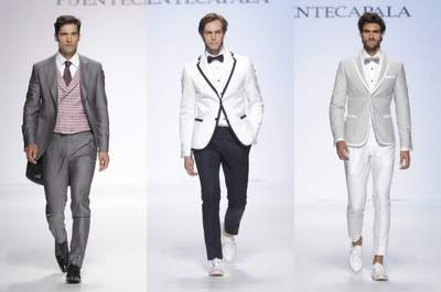 Fuentecapala Groomswear Collection 2015 at the Barcelona Bridal Week