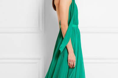 Robes de soirée vertes 2017, une invitée flamboyante au naturel