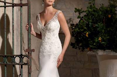 Elegance in the new bridal collection by Mori Lee