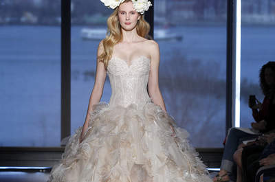 A Glass Menagerie: Our Editor´s Pick of Wedding Dresses Spring/Summer 2015