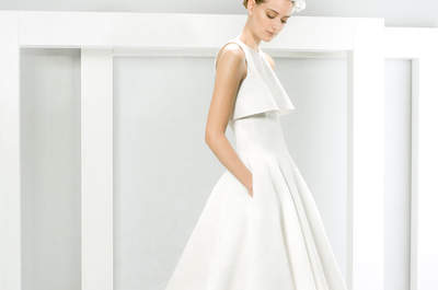 Vestidos de noiva com bolsos 2016: uma excelente escolha!