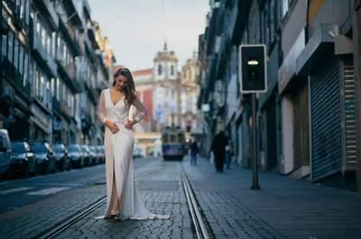 4 vestidos diferentes para 4 tipos de novias: ¡encuentra el estilo que más se adapta a ti!