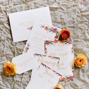 Hochzeitseinladungen für den Herbst 2016, die Sie sich nicht entgehen lassen sollten!
