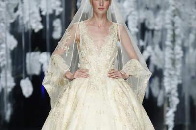 60 vestidos de noiva com saia volumosa para 2016: estilo, glamour e elegância