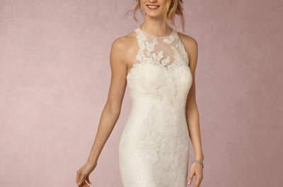 ¡Es oficial! Las novias bohemias son tendencia y estos vestidos lo comprueban