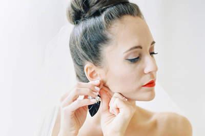 20 peinados de novia con chongos muy elegantes: El estilo más chic