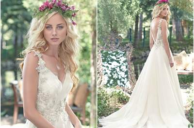 Maggie Sottero Spring 2016: sophisticated and elegent designs for the modern bride
