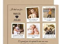 Accordez votre papeterie de mariage à votre thème de décoration avec les créations personnalisables Carteland