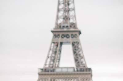 Shooting d'inspiration pour un mariage élégant et romantique à Paris