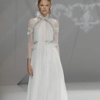 Плессированные платья и юбки для невест. Почему мода всегда возвращается?