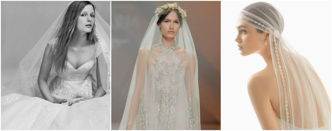 Bridal Veils for 2017: Look Unique and Memorable on your Big Day!