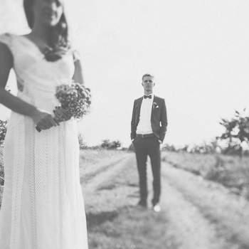 Hochzeitsfotografie - das Beste in Schwarz Weiss