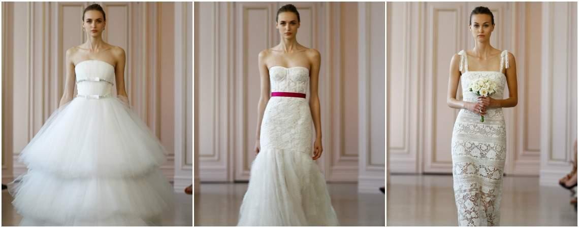 Óscar de la Renta 2016 Spring Bridal Collection: Flirty and Feminine