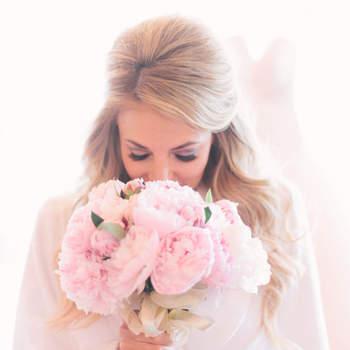 Bouquets de mariée avec des pivoines 2017 : Douceur et poésie!