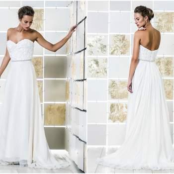 35 vestidos de novia para mujeres embarazadas 2017. ¡Luce tu tripa con mucho glamour!