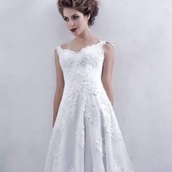 50 vestidos de noiva com corte em