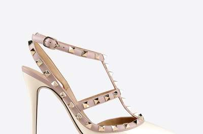 Bridal sandals for 2015: Flash those pretty toes!