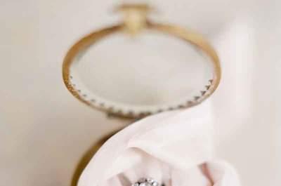 Los mejores anillos de compromiso vintage para dar el SÍ, ¡son auténticas joyas de época!