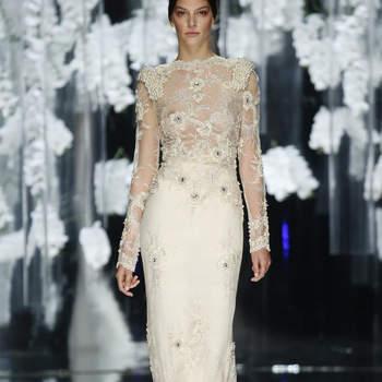 Facettenreiche Brautkleider-Auswahl von Yolan Cris 2016: Märchenhafter Style für Ihre Hochzeit!