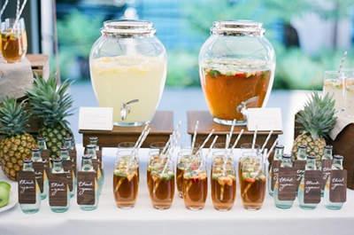 Ideen für alkoholfreie Getränke auf Ihrer Hochzeit