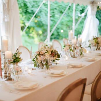 Décoration de tables de mariage 2017 : Les plus belles tendances !