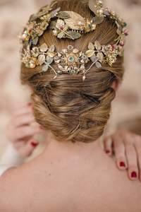 Acessórios de cabelo para noivas 2016