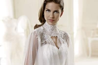 Vestidos de novia estilo vintage: Los más hermosos para caminar hasta el altar
