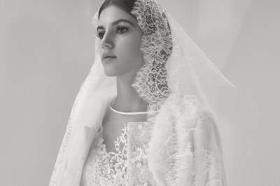Para las amantes de la alta costura en vestidos de novia: Elie Saab otoño 2017