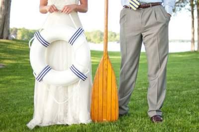 ¡Leven anclas! La inspiración marinera llega a tu boda