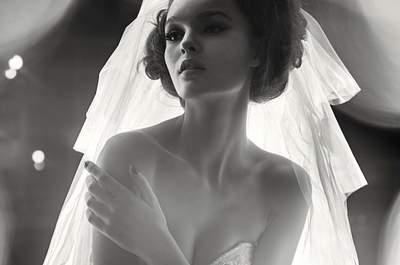 Robes de mariée avec strass 2016 : soyez une mariée chic !